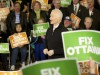 New Democrat Leader Jack Layton at a rally in Winnipeg, Manitoba on April 5, 2011. Courtesy of the NDP.
